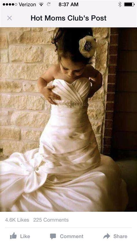 25  best ideas about Little Girl Wedding Dresses on