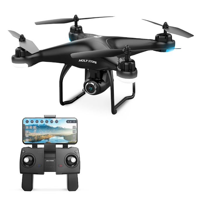EU USA Stock Holy Stone HS120D GPS Drone with FPV 1080p HD Camera Voice Recording Tapfly Long Range with Follow Me RC Quadcopter