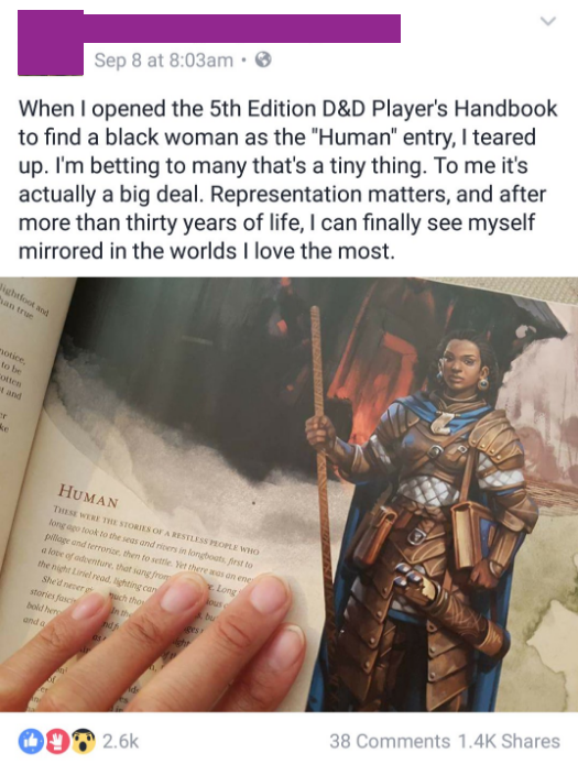 Representation in Dungeons & Dragons