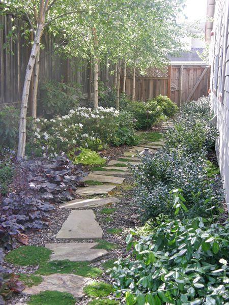 Landscaping ideas for long narrow backyard
