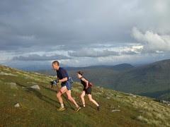 Climbing Sgurr Mhurlagain