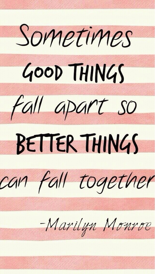 Better things: good things  quotes  Quotes:  Pinterest