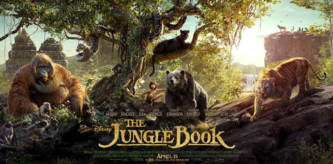 Resultado de imagem para Jungle Book 2016 posters