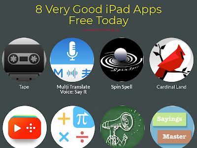 8 Very Good iPad Apps Free Today