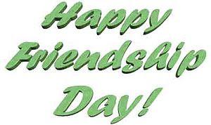 English: happy friendship day
