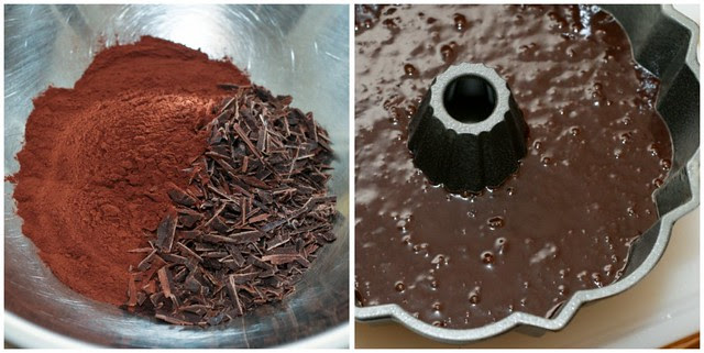 Light Chocolate Bundt collage