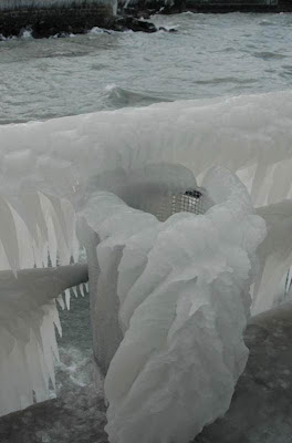 Covered With Ice
