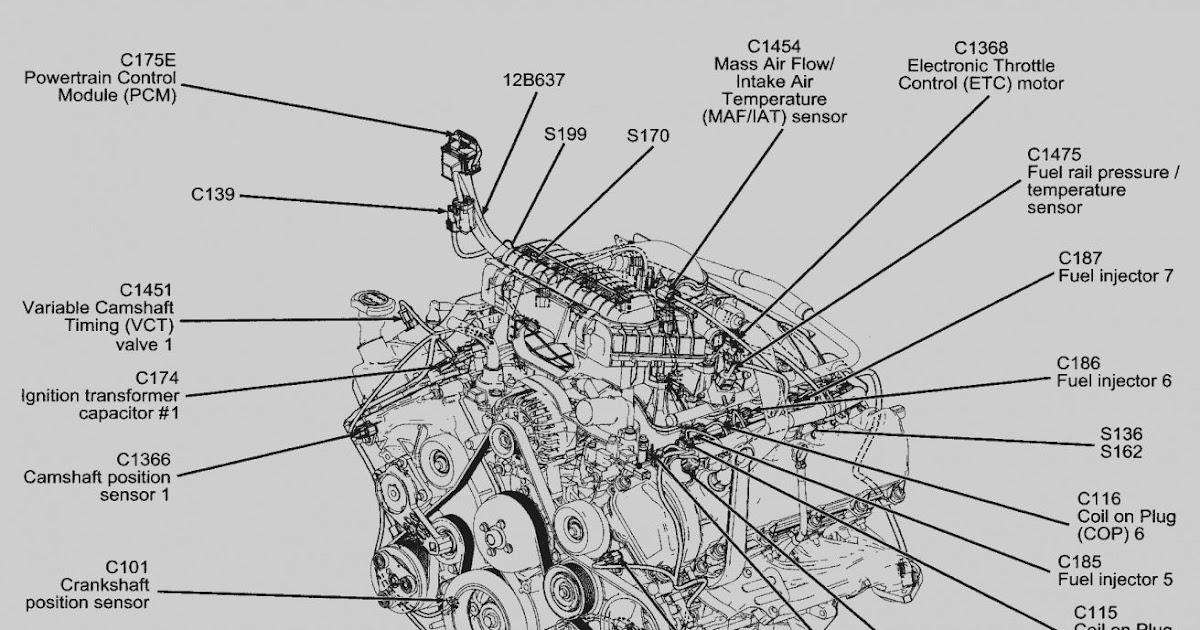 2001 Ford Explorer Sport Trac Engine Diagram Camshaft