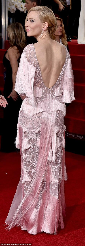 Globurile de aur Kate Blanchet in Givenchy