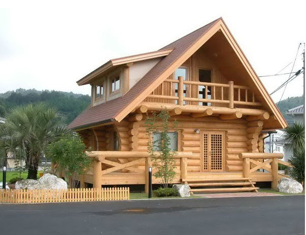 China Wood House -3 - China Wood House, Log Cabin