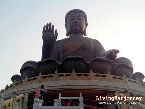 Big Buddha, Hong Kong, by LivingMarjorney on Flickr