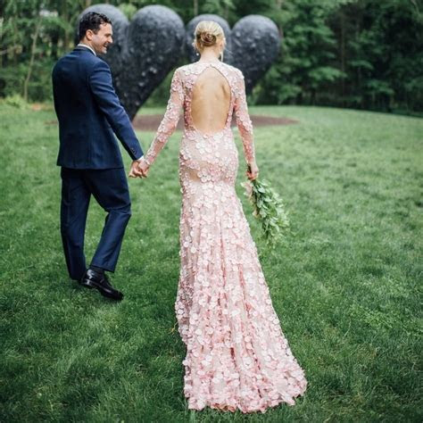 11 Colored Wedding Dresses You Can Wear Other Than White