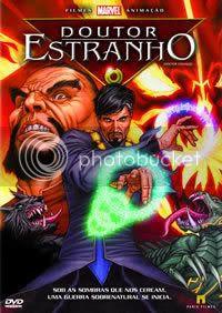DVD do Dr. Estranho.