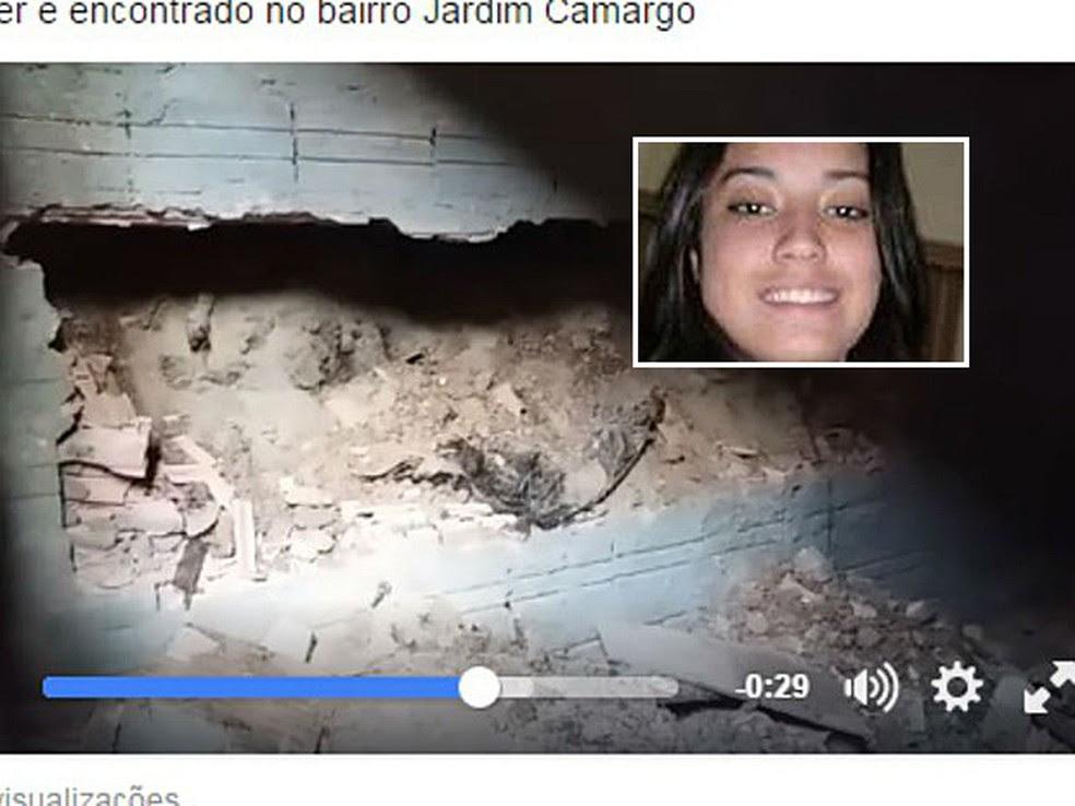 Jovem achada 'concretada' na parede lutava contra as drogas, afirma mãe (Foto: Reprodução/Facebook)