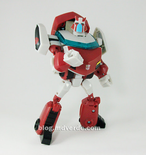 Transformers Ratchet Animated Deluxe (Cybertronian) - modo robot