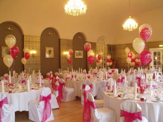 Wedding venue decoration hire yorkshire chair covers balloons wedding venue decoration hire yorkshire wedding decoration hire romantic junglespirit Gallery