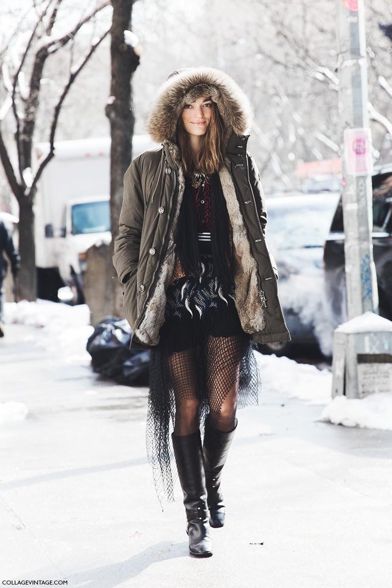 New_York_Fashion_Week-Fall_Winter_2015-Street_Style-NYFW-Sofia_Sanchez-Parka-1