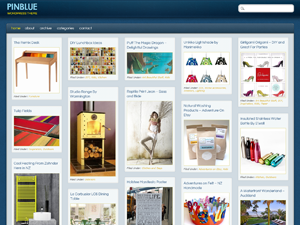 PinBlue Free WordPress Theme
