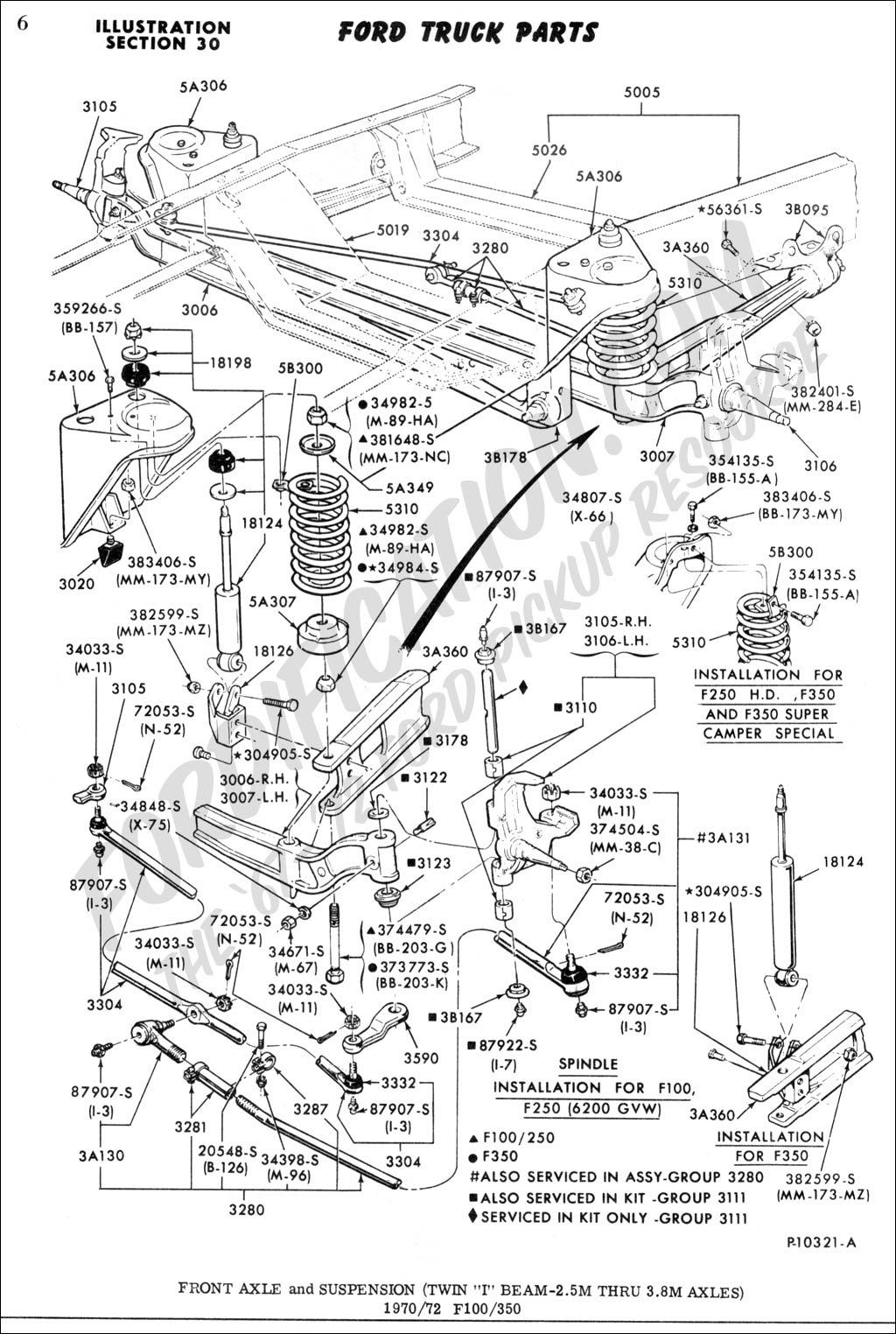 Ford Truck Technical Drawings and Schematics - Section A ...