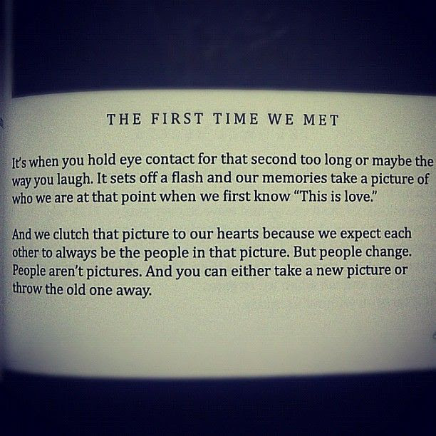 Quotes About First Time We Met 39 Quotes