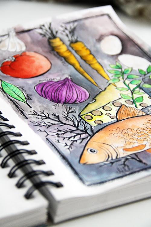sketchbook delight part 2 online class
