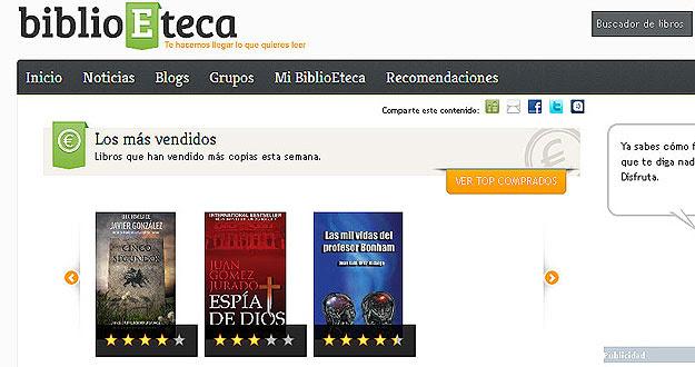 BIBLIOETECA, LA RED SOCIAL PARA LOS LECTORES DE EBOOKS