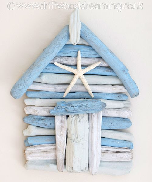 Driftwood house - starfish over the door