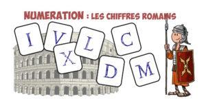 Cyfry rzymskie - nagłówek - Francuski przy kawie