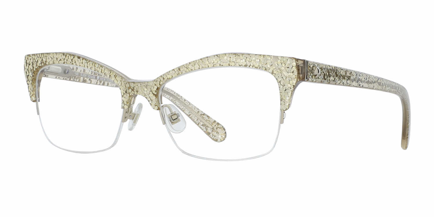 Gold Glitter Eyeglass Frames Califainfo For