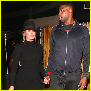 Khloe Kardashian & Boyfriend Tristan Thompson Enjoy Date Night at The Nice Guy