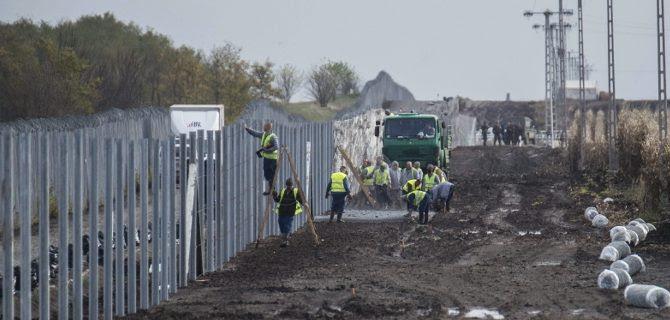 Η Ουγγαρία σηκώνει και άλλο φράχτη -Με θερμικές κάμερες για να εντοπίζουν πρόσφυγες