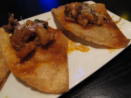 Thai Style Tom Yum Shrimp Nachos