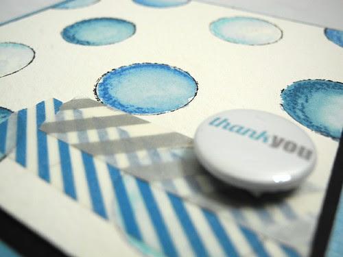 Watercolor Polka Dots Thank You