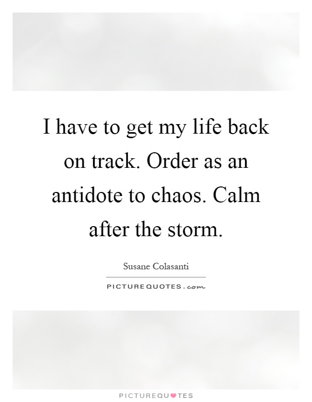 After The Storm Quotes Sayings After The Storm Picture Quotes