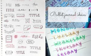 Como decorar as paginas do bullet journal