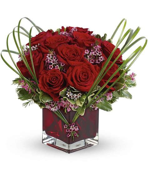 Teleflora's Sweet Thoughts Bouquet with Red Roses   Pesche's