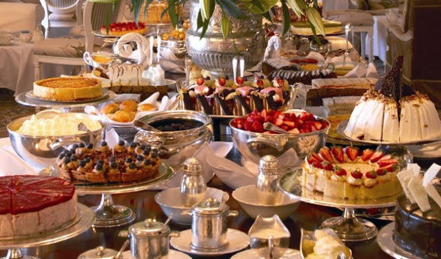 Mount Nelson High Tea