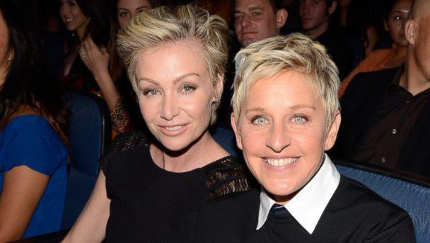 GTY ellen degeneres portia derossi sr 131212 16x9 608 Ellen DeGeneres Denies Trouble in Her Marriage