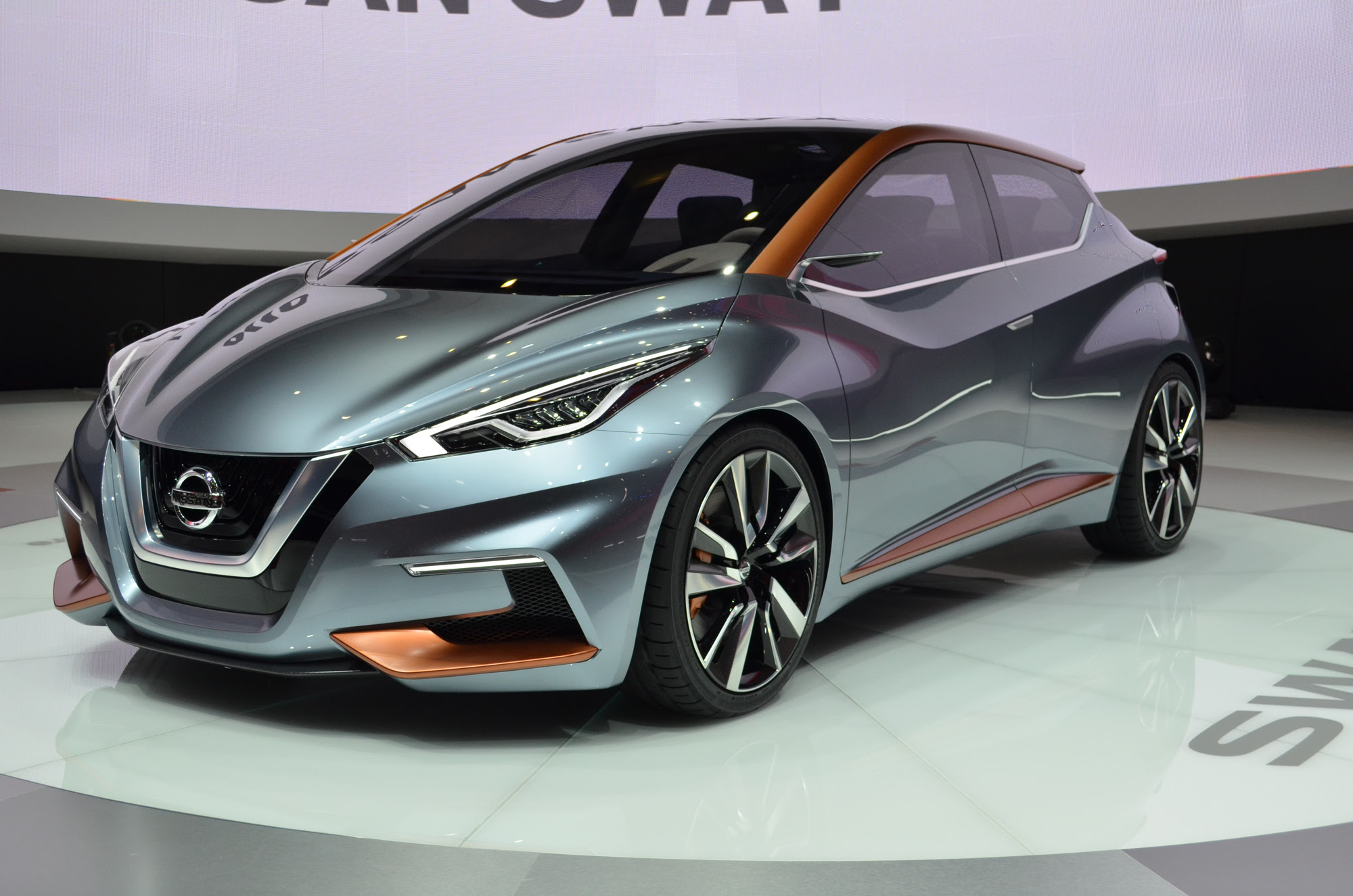 Nissan Sway Concept Previews Hatchbacks to Come - Nissan ...