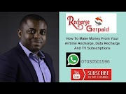 Recharge And Get Paid Full Presentation