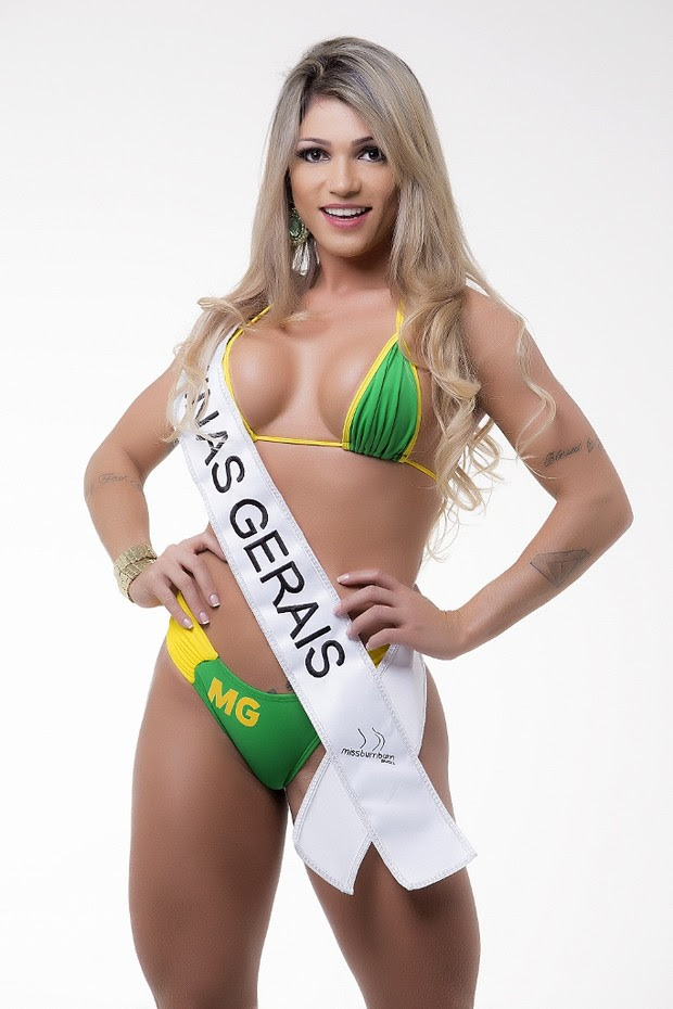 Candidatas ao Miss Bumbum Brasil 5 - Camila Gomes - Minas Gerais  (Foto: Divulgação MBB5! )