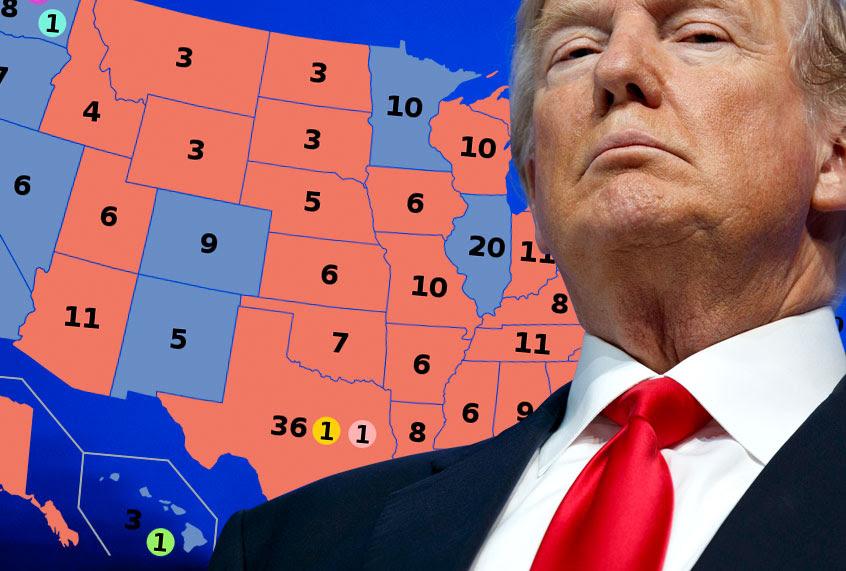 President Trumps Favorability Flounders In Key 2020