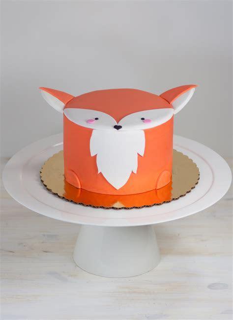 Fox Mini Animal Cake
