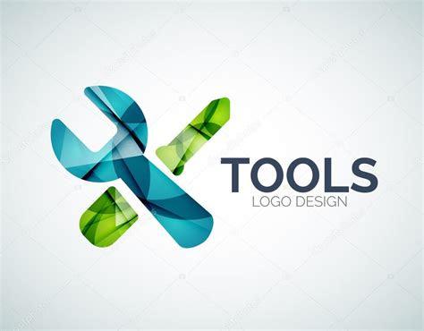 tools icon logo design   color pieces stock vector