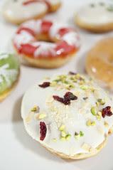 Holiday Toffee Nuts, Holiday Dozen Box, Krispy Kreme Doughnuts, Shinjuku