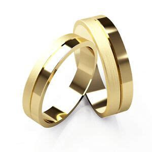 Matching Wedding Rings His And Hers 9ct Yellow Gold Bands