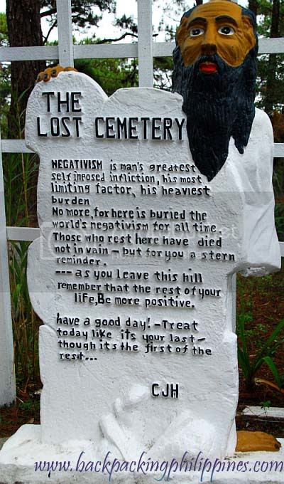 The Cemetery of Negativism
