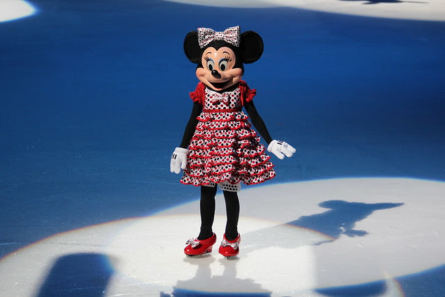 Minny Mouse on Ice