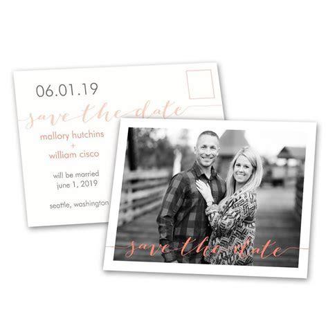 Photo Feature Save the Date Postcard   Ann's Bridal Bargains