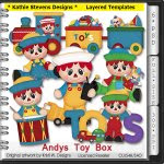 Andys Toy Box Layered Templates - CU